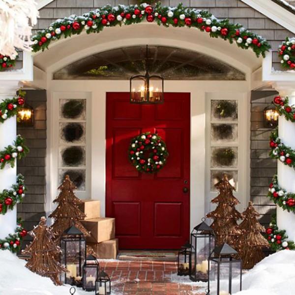 La felicit preparare il natale in anticipo - Decorazioni natalizie fai da te per esterno ...